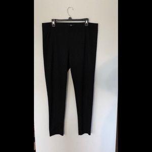 Black Mossimo stretch pants